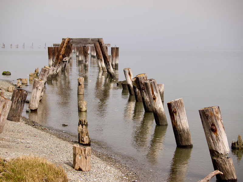 Old Jetty (2) at Point Pinole  - was used by Giant Powder Company (explosives)