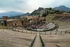 Ampitheater in Taormina, Italy