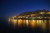 Amalfi, Italy at night