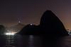 Leaving Rio, Brazil at night