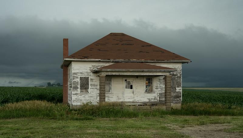 Abandoned farm in Kansas