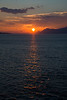 Sunset near Makarska, Croatia