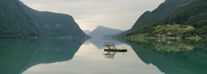 End of summer in Skjolden, Norway