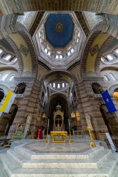 La Major Cathedral, Marseille, France