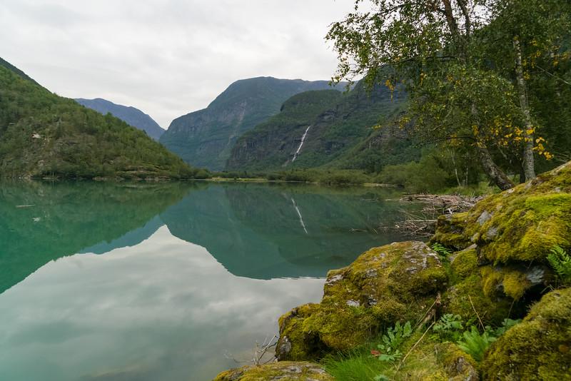 Waterfall near Skjolden, Norway
