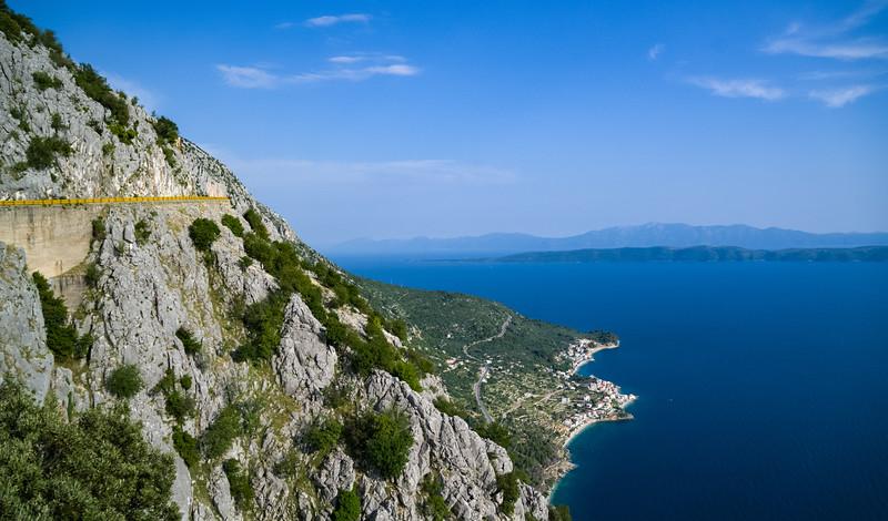 Croatian coast near Makarska