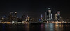 New York night skyline