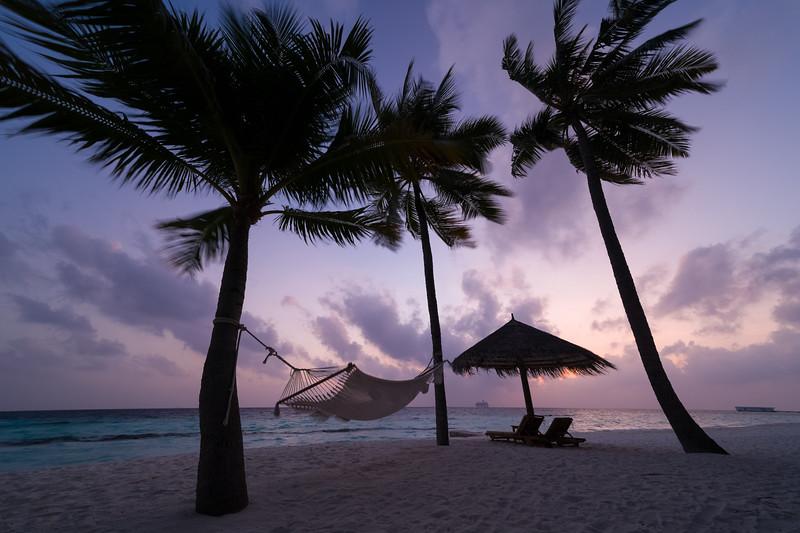 The World arrives at the Conrad, Maldives