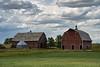 Scenic farm in the Nebraska panhandle