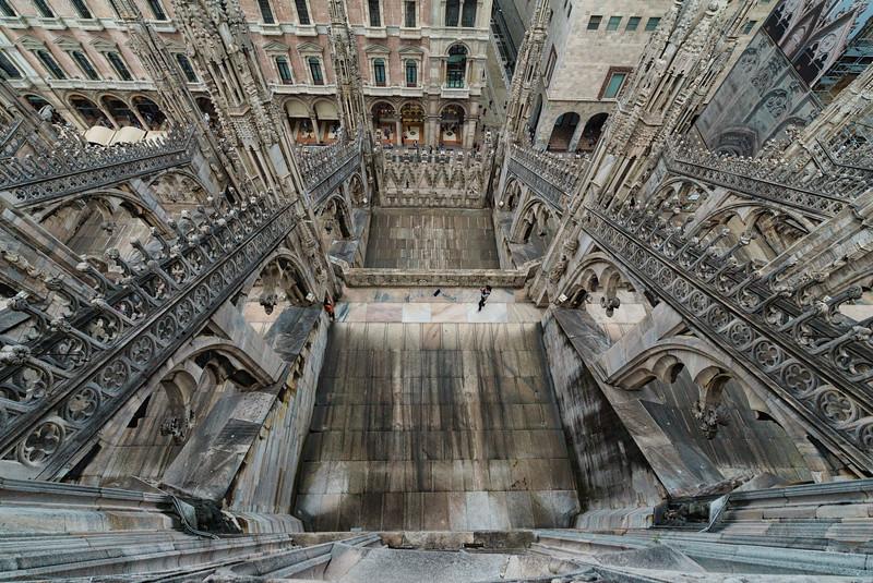 Duomo roof, Milan, Italy