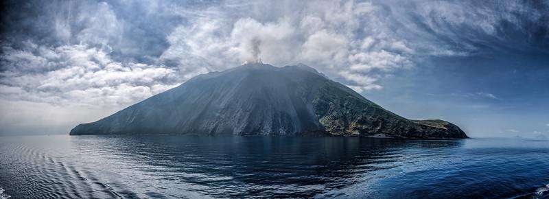 Stromboli volcano, Italy