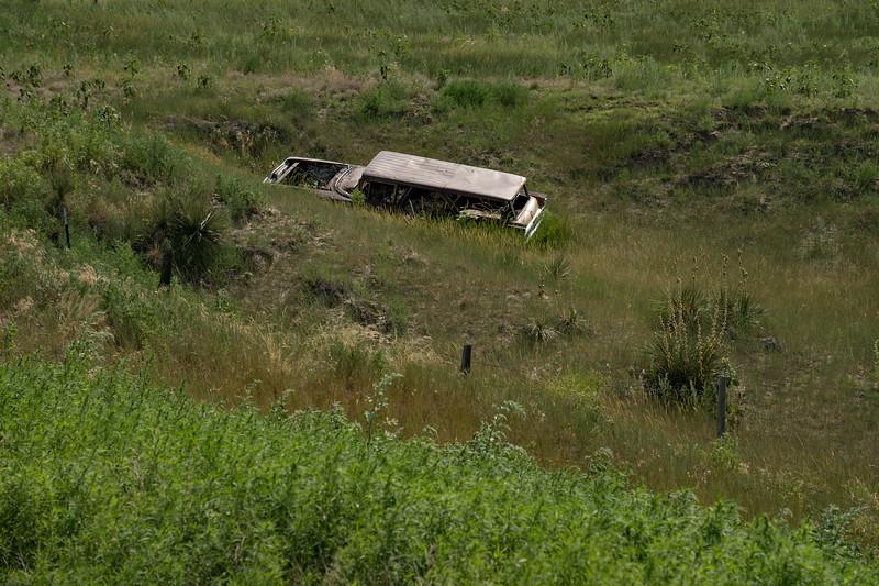 Abandoned car in Colorado