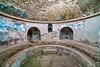 Spa room in Pompeii, Italy