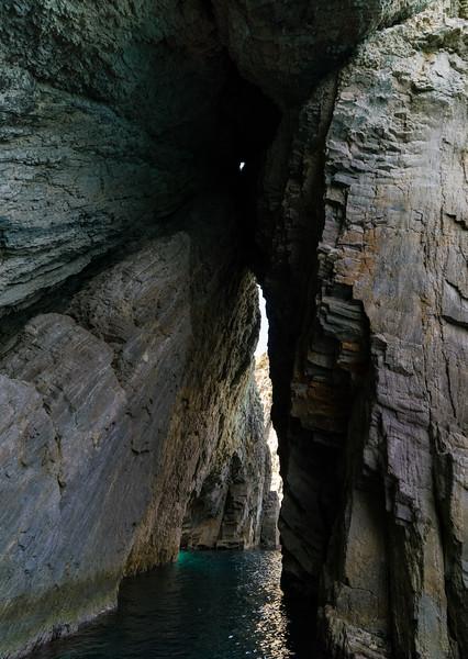 Arches near Ponza, Italy