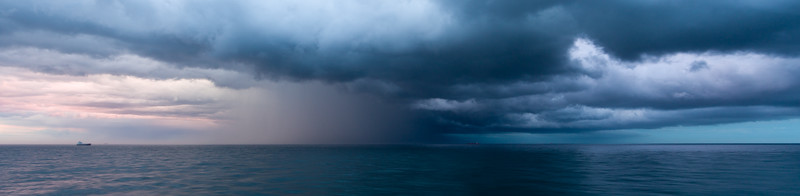 Storms in the North Sea