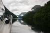 Fjord cruising near Ullensvang, Norway
