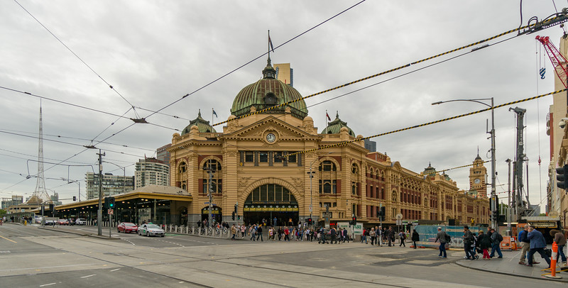 Flinders Train Station, Melbourne, Australia