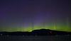 Aurora north of Vancouver, Canada