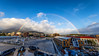 Rainbow over Hobart, Tasmania