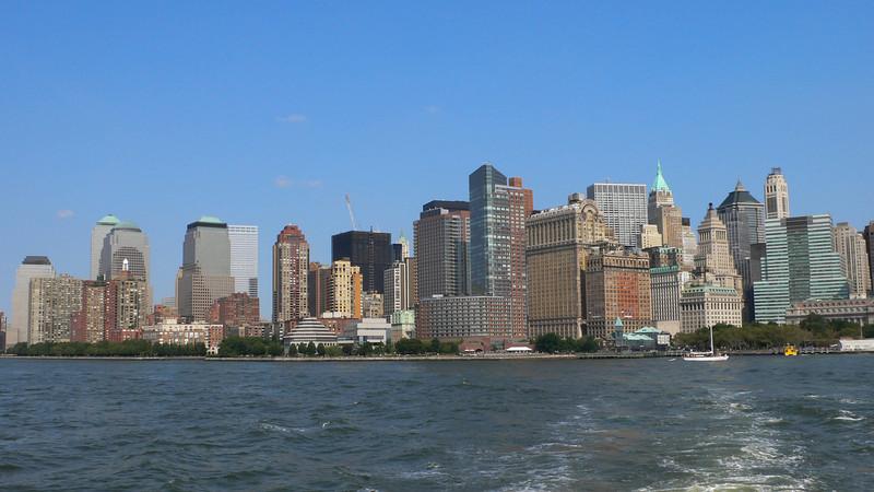 Wall Street Landscape - New York, NY - US
