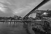 Ponte Luis I bridge in Porto, Portugal