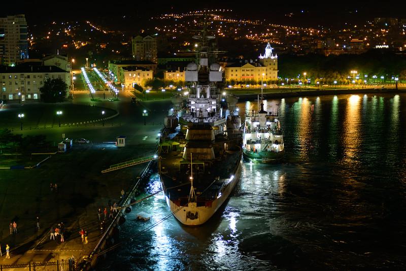 Battleship museum in Novorossiysk, Russia