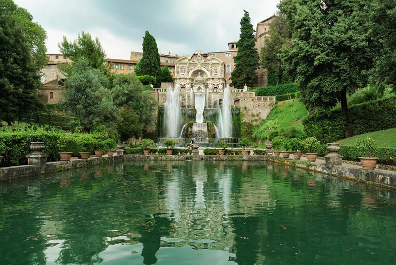 Ville d'Este, Tivoli, Italy