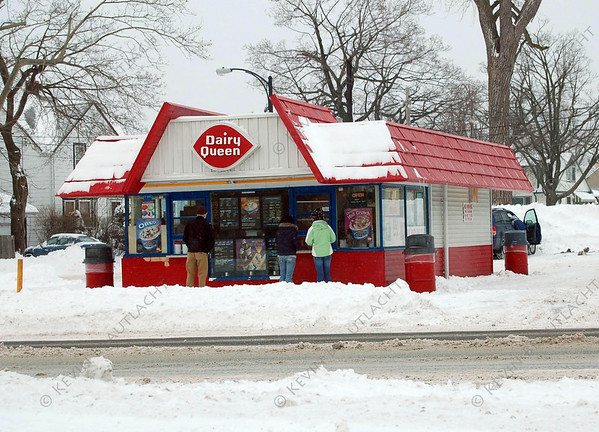 Even a winter storm can't keep us away from DQ!