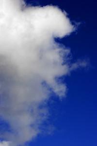 Nice blue sky.