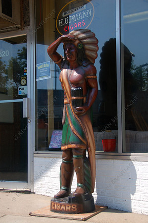 Cigar store indian East Aurora, New York