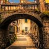 Passageway in Monterosso