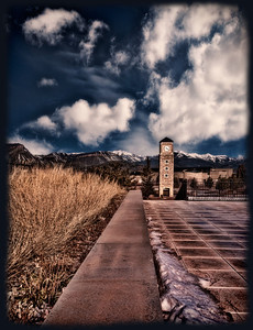 The Fort Lewis College watchtower