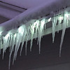 It will be interesting to see if the lights survive the icicles.