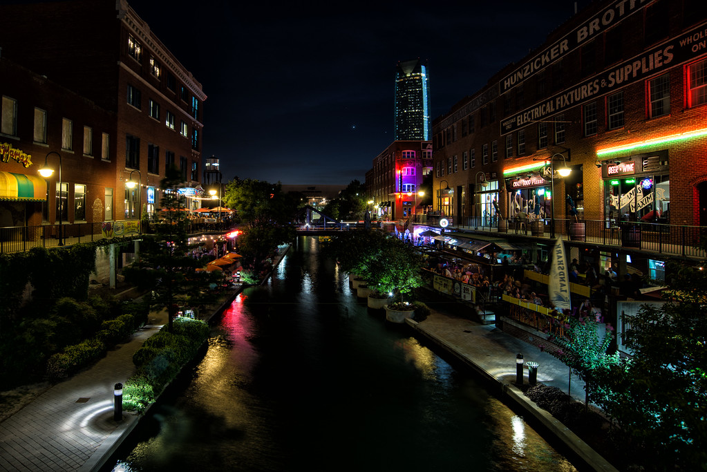 Bricktown at Night