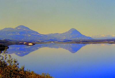 Tangle Lakes, Alaska, july, 1971