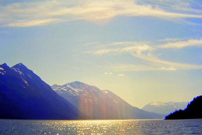 Kenai Lake, Alaska, july 1971