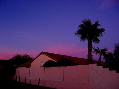 Sunset, Awatokee, AZ,  nov 17, 2007