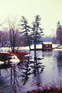 Echo Lake,  VT, apr 1970