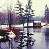 Echo Lake,  VT, apr 1970