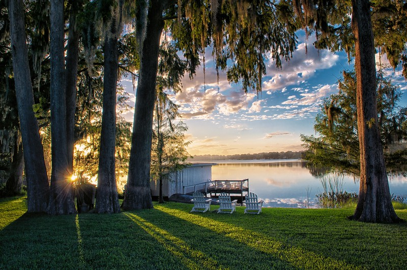 """WPP1147  """"Sunrise on Lake Virginia"""""""