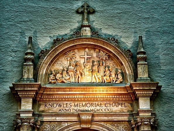"WPP1156  ""Knowles Memorial Chapel Relief"""