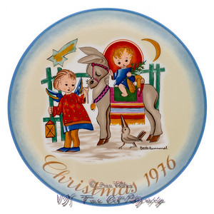 Sacred Journey Christmas Plate