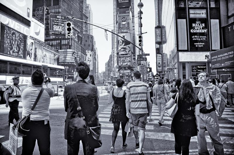 Times Square Lookie Loos