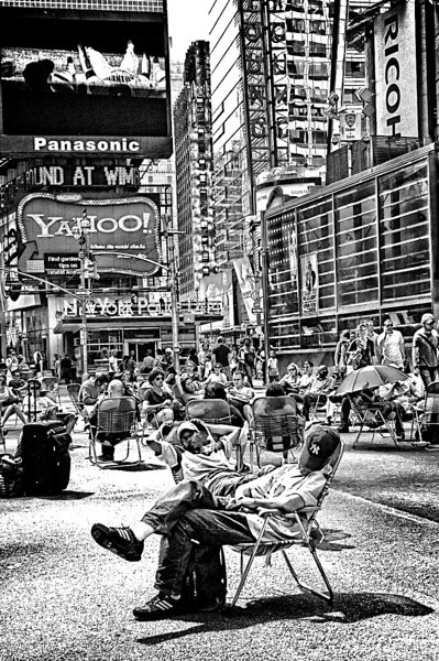 Time out on Times Square