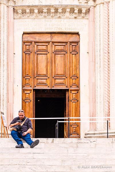 Siena: candid study #580