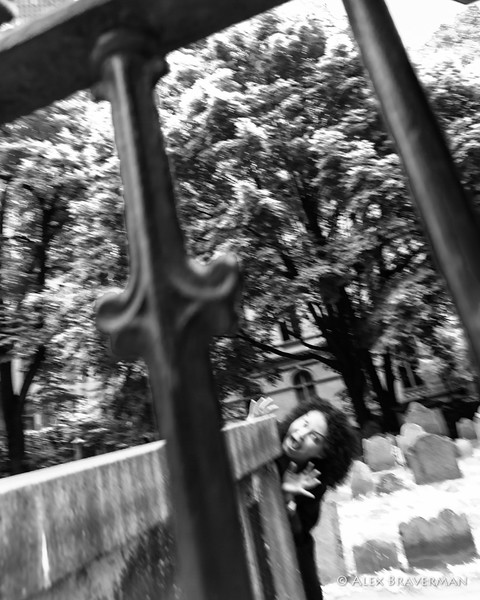 ghost at the King's cemetery
