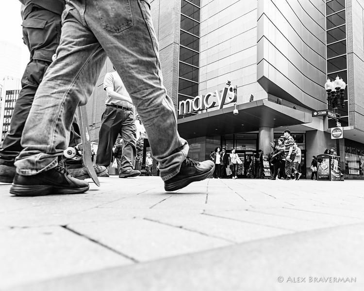 the art of walking in Boston #297