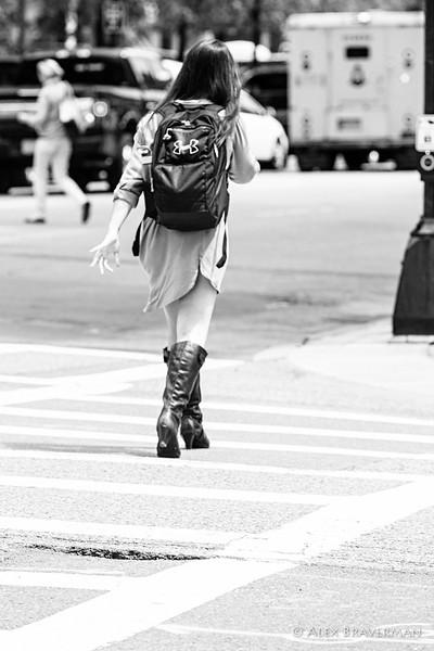 the art of walking in Boston #981