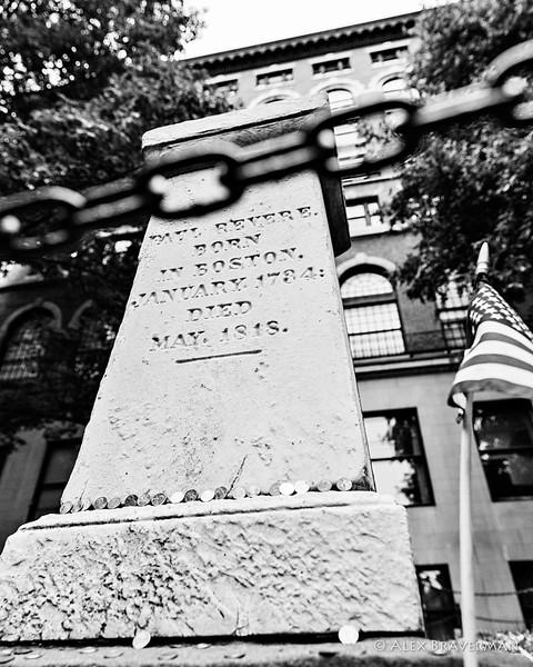 Paul Revere, born, died