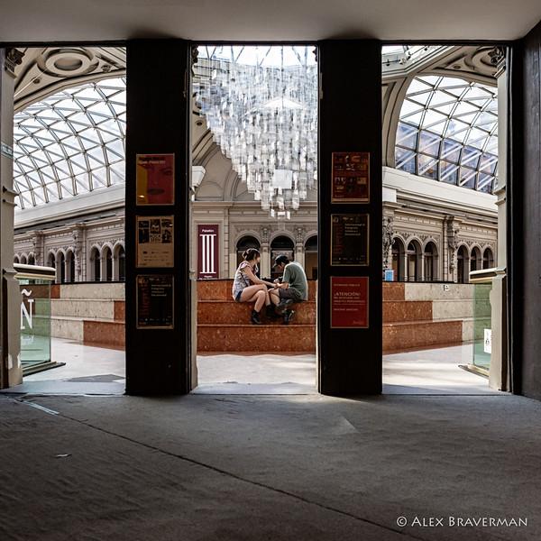 in the Galeria